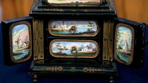 Antiques Roadshow -- S16 Ep13: Appraisal: Viennese Enameled Jewelry Box, ca. 1900