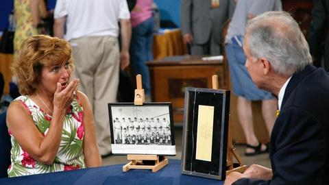 Antiques Roadshow -- S15 Ep18: Owner Interview: Mickey Mantle Payroll Check