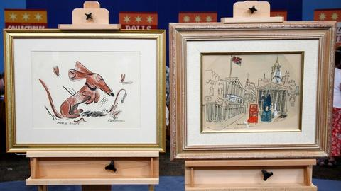 Antiques Roadshow -- S15 Ep21: Appraisal: Two Ludwig Bemelmans Drawings