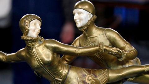 Antiques Roadshow -- S15 Ep10: Appraisal: Art Deco Bronze & Ivory Sculpture, ca.