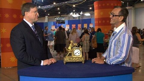 Antiques Roadshow -- S15 Ep2: Web Appraisal: French Table Clock, ca. 1820