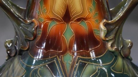 Antiques Roadshow -- S15 Ep7: Appraisal: Royal Bonn Art Nouveau Vase, ca. 1900