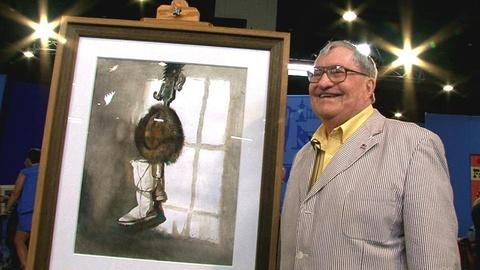 Antiques Roadshow -- S14 Ep2: Owner Interview: 1985 Andrew Wyeth Watercolor Still
