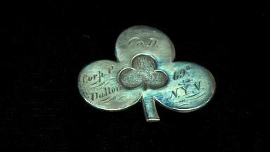 Appraisal: Civil War Pin and Photograph