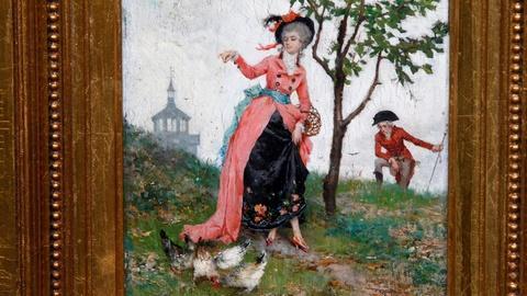 Antiques Roadshow -- S15 Ep11: Appraisal: 1874 Luigi Rossi Oil Painting