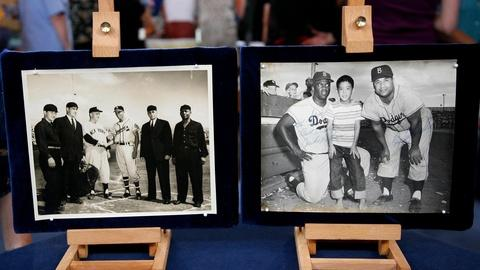 Antiques Roadshow -- S15 Ep21: Appraisal: 1956 Jackie Robinson & Roy Campanella S