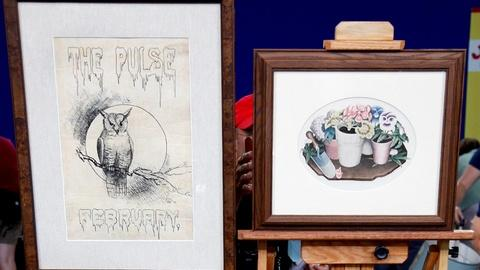 Antiques Roadshow -- S15 Ep19: Appraisal: Grant Wood Drawing, Lithograph & Trunk