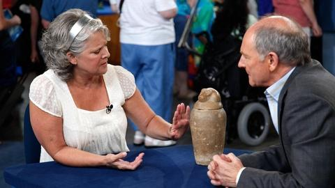 Antiques Roadshow -- S14 Ep12: Appraisal: Ancient Egyptian Canopic Jar, ca. 340 B