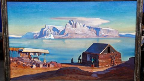 "Antiques Roadshow -- S16 Ep9: Appraisal: 1946 Rockwell Kent ""Land of Peace"" Oil"