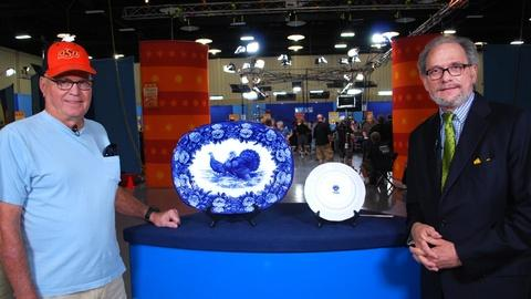 Antiques Roadshow -- Web Appraisal: Villeroy & Boch Turkey Platter and Plate,...
