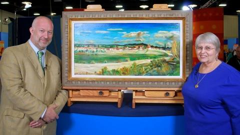 Antiques Roadshow -- Web Appraisal: Mid-20th-Century Joseph Fleck Oil Painting