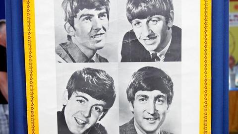 Antiques Roadshow -- S16 Ep15: Appraisal: Beatles Parlophone Poster, ca. 1962