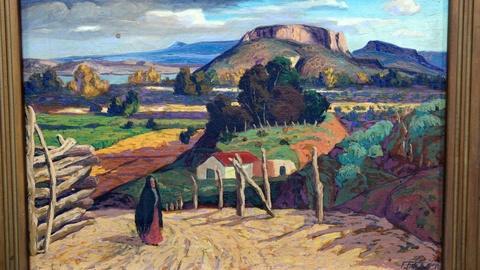Antiques Roadshow -- S16 Ep12: Appraisal: Fremont F. Ellis Oil Landscape, ca. 193