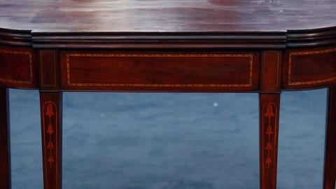 Antiques Roadshow -- S15 Ep17: Appraisal: Federal Inlaid Mahogany Games Table, ca