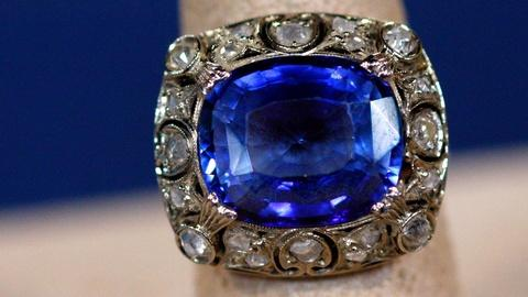 Antiques Roadshow -- S15 Ep13: Appraisal: Sapphire & Diamond Ring