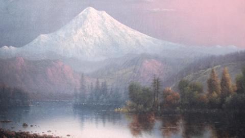 Antiques Roadshow -- Web Appraisal: Eliza Barchus Oil Painting of Mt. Hood