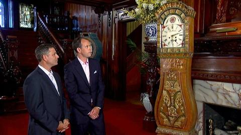 Antiques Roadshow -- S16 Ep16: Field Trip: Antique Mora Tall Case Clocks