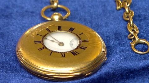 Antiques Roadshow -- S17 Ep21: Appraisal: Presentation Pocket Watch & Fob, ca. 18