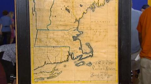 Antiques Roadshow -- S17 Ep21: Appraisal: 1833 School Girl Map of New England