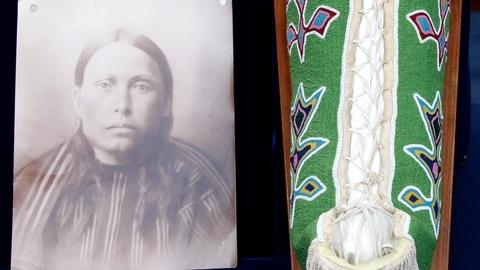 Antiques Roadshow -- S17 Ep21: Appraisal: Kiowa Beaded Cradle, ca. 1910