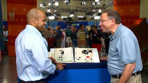 Antiques Roadshow -- S16 Ep1: Web Appraisal: NFL Hall-of-Famers and Superstars Si