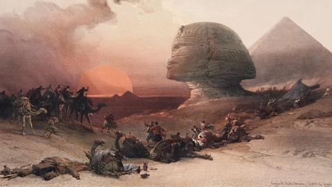Antiques Roadshow -- S15 Ep3: Appraisal: David Roberts Sphinx Lithograph, ca. 184