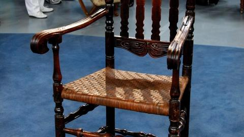 Antiques Roadshow -- S16 Ep1: Appraisal: Connecticut William & Mary Armchair, ca.