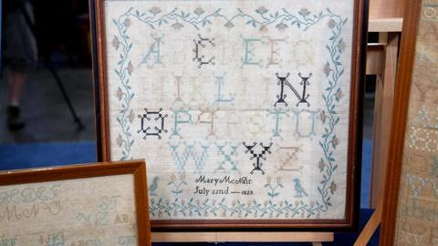 Antiques Roadshow -- S16 Ep9: Appraisal: Mary McNair Needlework Samplers, ca. 182