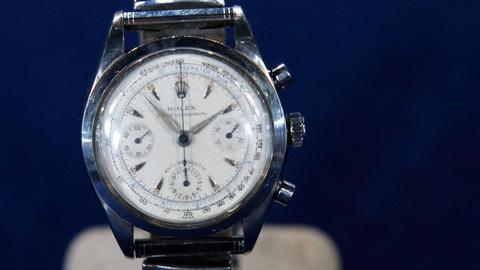 Antiques Roadshow -- S15 Ep18: Appraisal: 1954 Rolex Anti-Magnetic Chronograph Wr