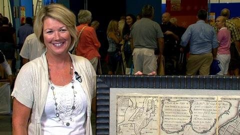 Antiques Roadshow -- S16 Ep15: Interview with the 1775 New York City Map Owner