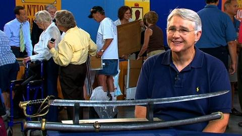Antiques Roadshow -- S16 Ep15: Interview with the Confederate Officer's Sword Own