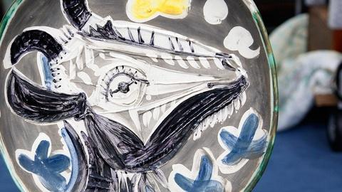Antiques Roadshow -- S15 Ep16: Appraisal: Madoura Pottery Picasso Plate