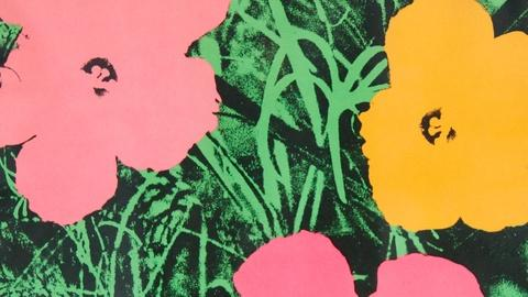 "Antiques Roadshow -- S15 Ep16: Appraisal: 1965 Andy Warhol ""Flowers"" Lithograph"