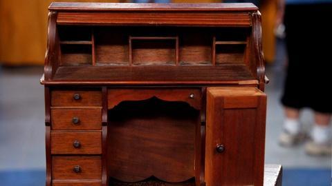 Antiques Roadshow -- S16 Ep1: Appraisal: Salesman's Sample Rolltop Desk, ca. 1890