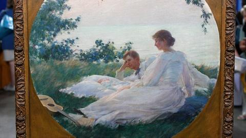 Antiques Roadshow -- S13 Ep18: Appraisal: 1894 Charles Courtney Curran Portrait