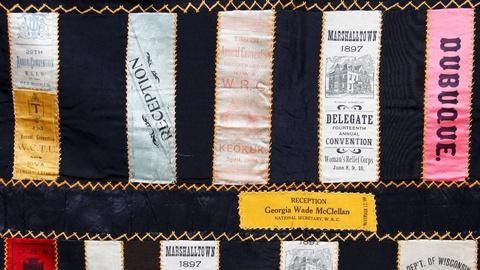 Antiques Roadshow -- S15 Ep9: Appraisal: Woman's Relief Corps Ribbon Quilt, ca. 1
