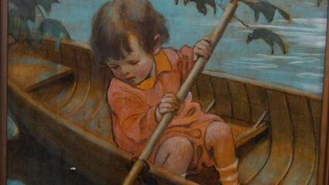 Antiques Roadshow -- S15 Ep5: Appraisal: Jessie Willcox Smith Oil Painting with..