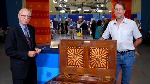Antiques Roadshow -- Web Appraisal: 1894 Marquetry Tool Chest