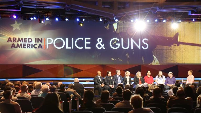 Armed in America: Police & Guns: Former Sheriff Explains Reasons Police Use Military Equip...