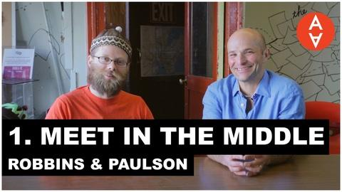 The Art Assignment -- Meet in the Middle - Douglas Paulson and Christopher Robbins