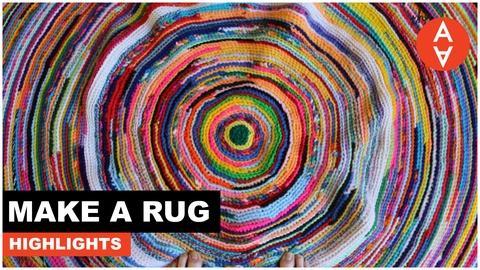 The Art Assignment -- Make a Rug Highlights