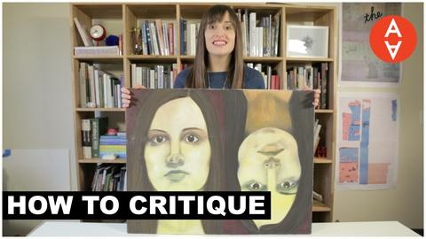 The Art Assignment -- How to Critique