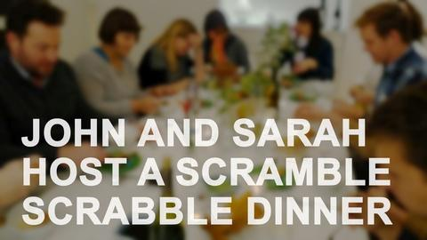 The Art Assignment -- S2 Ep22: John and Sarah Host a Scramble Scrabble Dinner