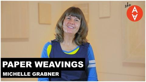 The Art Assignment -- S2 Ep19: Paper Weavings - Michelle Grabner