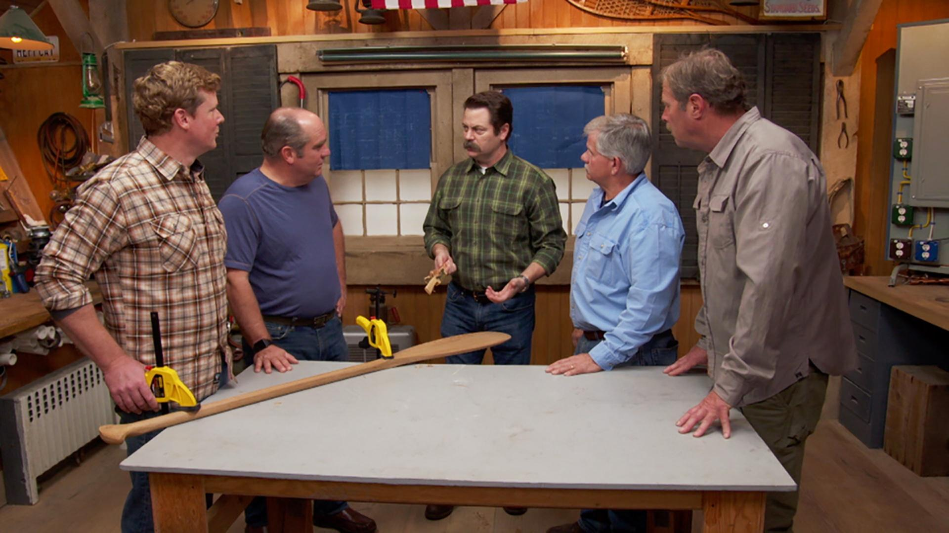Video: Ask This Old House | Guest Nick Offerman | Watch Ask This Old ...