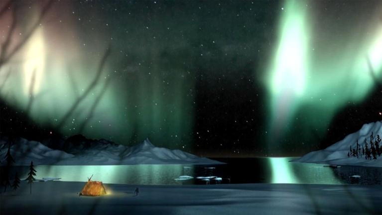 Aurora - Fire in the Sky: Inuit Myth