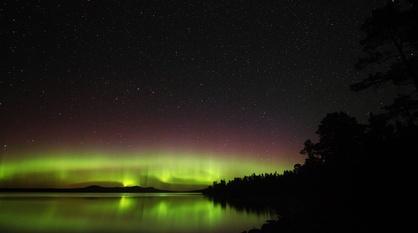 Aurora - Fire in the Sky -- Artificial Aurora