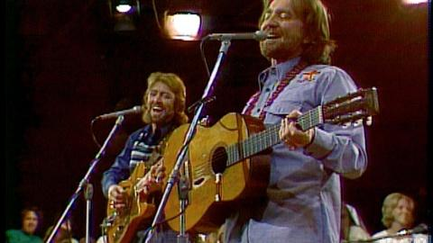"Austin City Limits -- S1 Ep1: Willie Nelson ""Whiskey River"" (Pilot Episode, 1974)"
