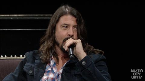 Austin City Limits -- Dave Grohl & Terry Lickona Q&A