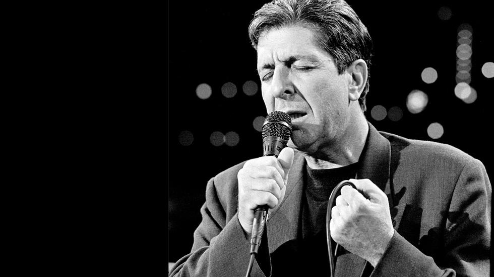 "Leonard Cohen ""First We Take Manhattan"" image"
